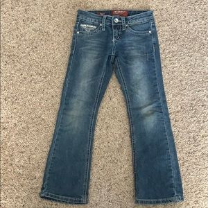 Girls 7R Arizona jeans boot cut with pocket design